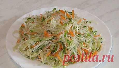 Салат Хэй Хэ (Харбин) - Азиатская кухня (китайкая, корейская, японская)