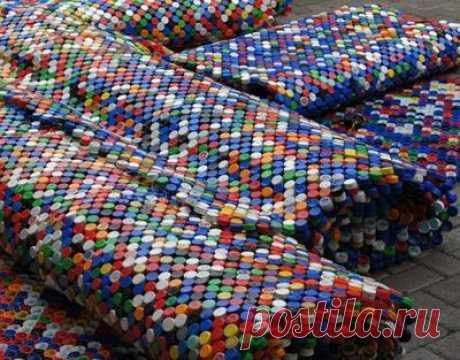 7 идей как использовать крышки от пластиковых бутылок