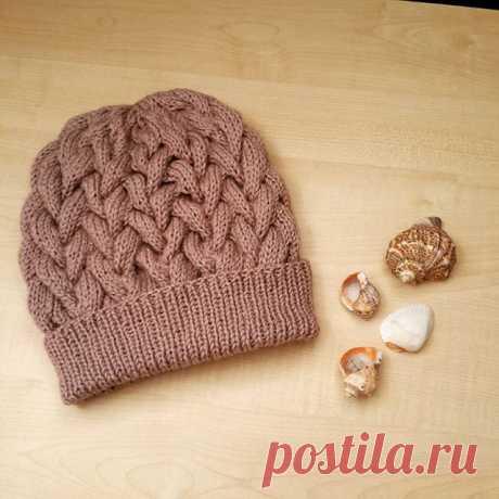 Вяжем шапочку с косами. - блог экспертов интернет-магазина пряжи 5motkov.ru