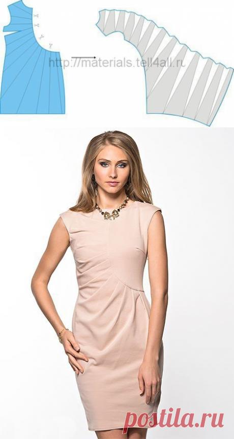 Платье на лето: моделирование — Сделай сам, идеи для творчества - DIY Ideas