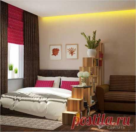 Как зонировать комнату на спальню и гостиную - обустраиваем спальное место в гостиной