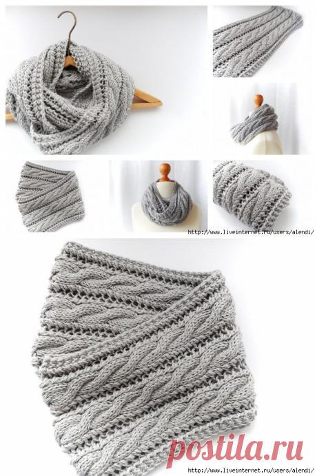 Модные шарфы-СНУДЫ