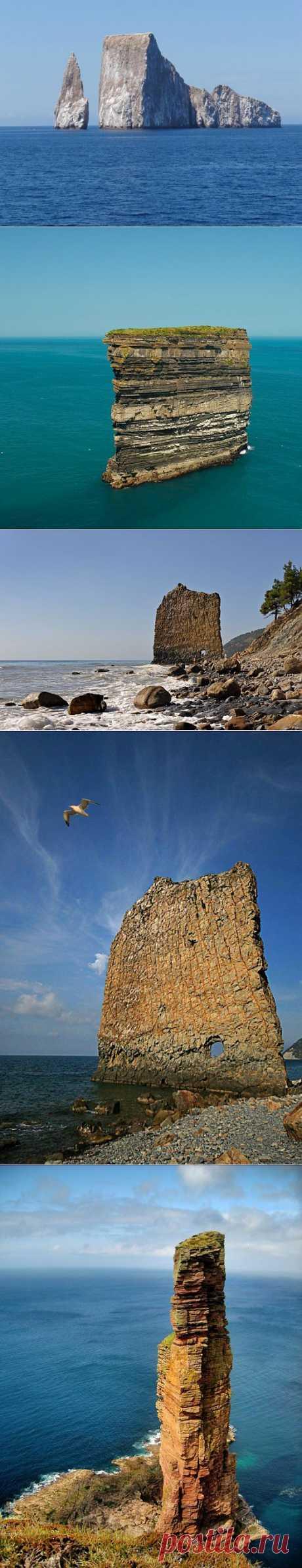 » Морские скалы Это интересно!