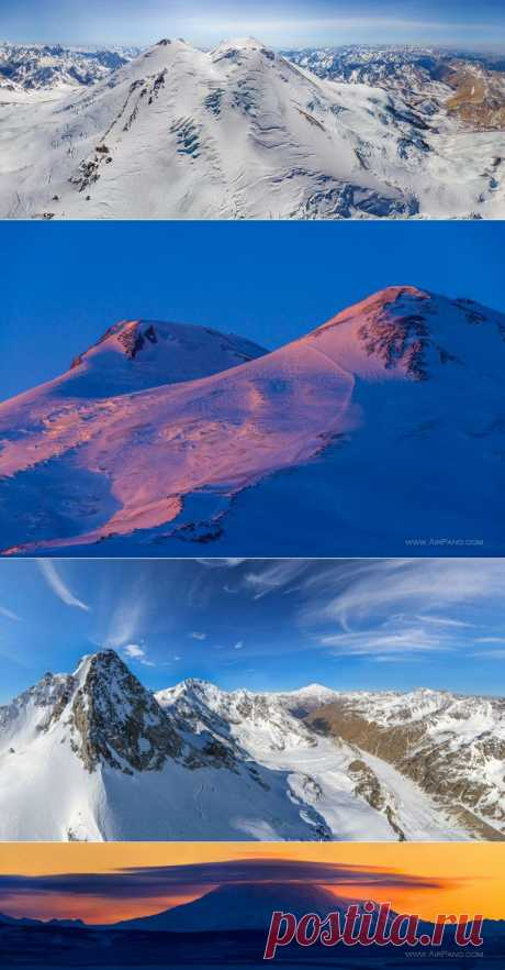 Гора Эльбрус и Приэльбрусье | Сферические aэропанорамы, фотографии и 3D туры самых интересных и красивых городов и уголков нашей планеты, 360° панорамы вокруг света | проект AirPano.ru