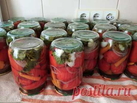 рецептик маринованных помидоров, необыкновенной вкусноты, без стерилизации.