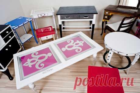 Новая жизнь старой мебели и дверей