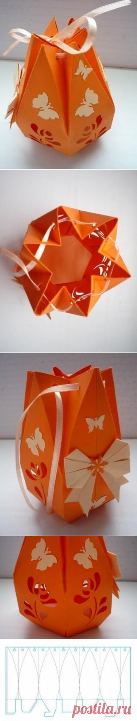 Оригинальная подарочная коробка своими руками — Сделай сам, идеи для творчества - DIY Ideas
