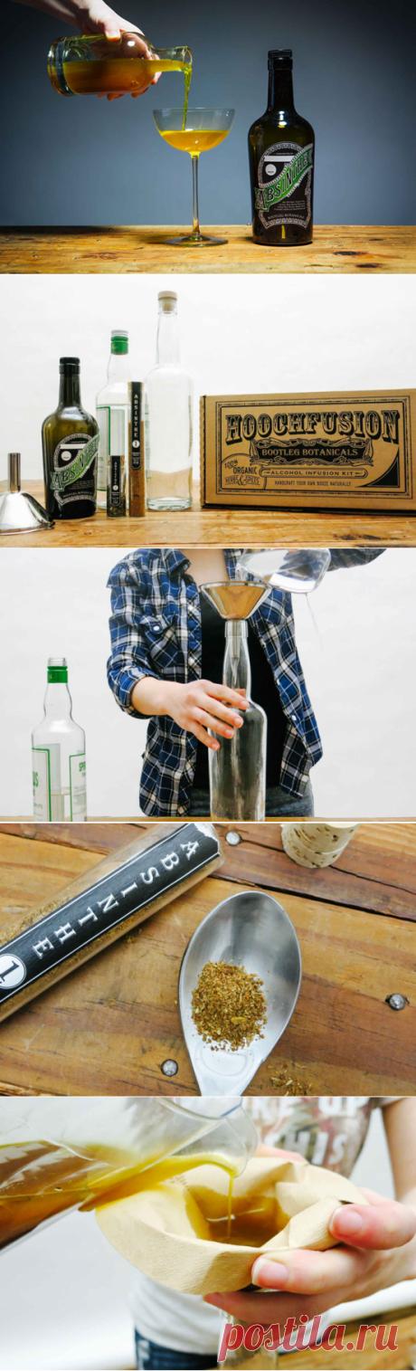 Как приготовить дома тот самый абсент