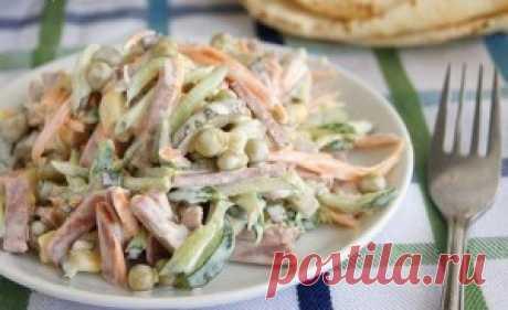 Салат, который не надо варить | Самые вкусные рецепты