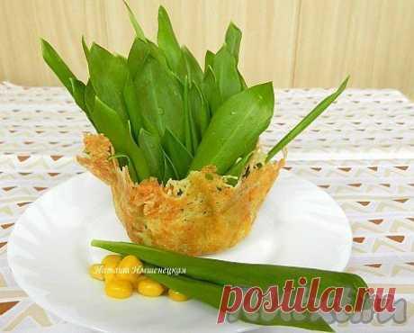 Сырные корзинки (рецепт с фото) | RUtxt.ru