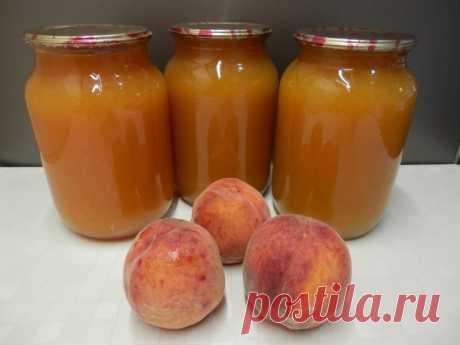 Персиковый сок на зиму - Простые рецепты Овкусе.ру