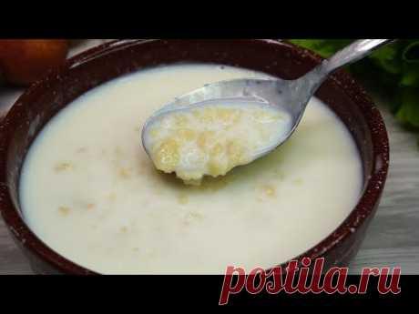 Удивительный Молочный суп. Только такой вариант признается в нашей семье