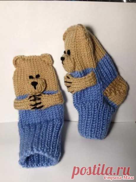 """Носочки """"веселые медвежата"""""""