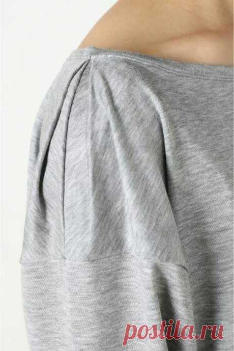 Любопытное плечико Модная одежда и дизайн интерьера своими руками