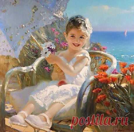 Картины современного художника Владимира Волегова.
