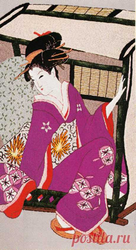 東京文化刺繍キット No603 カゴ(9号)
