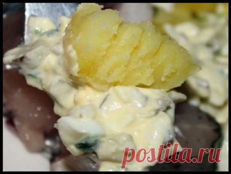 Заправка к любой картошке - с ней любая картошка в 10 раз вкуснее!