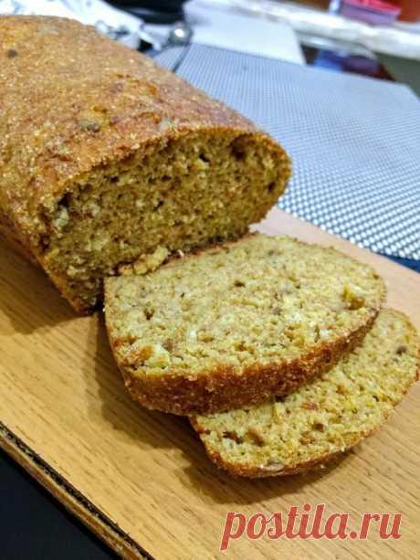 Белковый хлеб с творогом Белковый хлеб для Кето диеты.