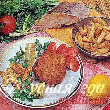 Рыбные зразы с начинкой из зеленого лука - Вкусная еда