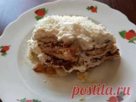 """Торт """"Рафаэлло""""🍰 Автор рецепта Ольга Высоцкая - Cookpad"""
