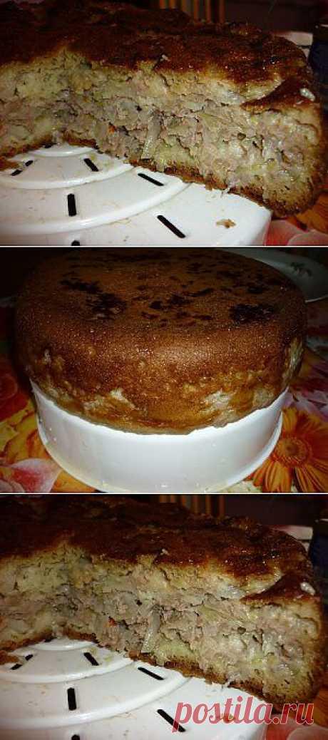 Пирог с капустой в мультиварке |