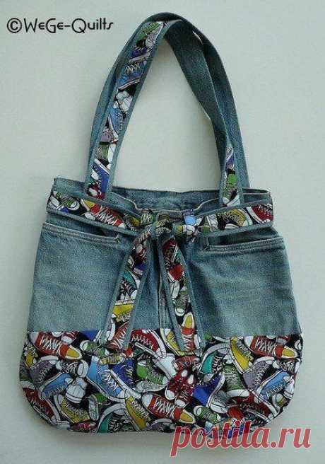 Джинсовые сумочки своими руками — идеи для вдохновения
