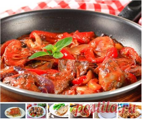 7 рецептов ужина: вкусное меню на неделю