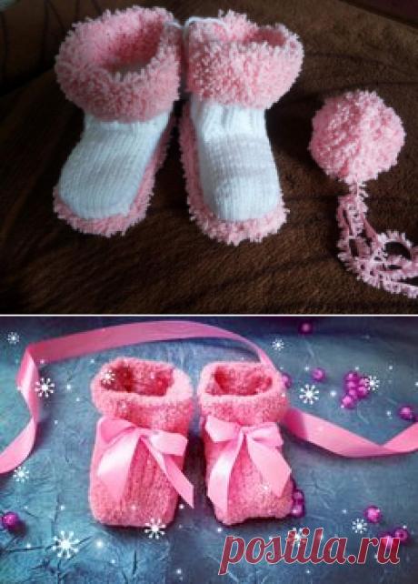 Пинетки, сапожки: 1 500 тг. - Детская обувь Алматы на Olx