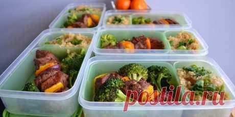 ПП рецепты на работу: обеды с собой