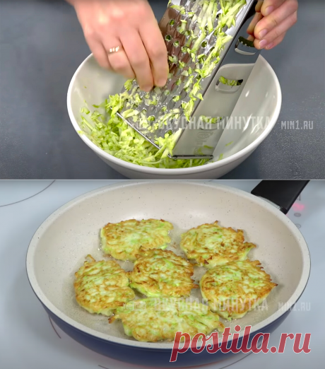 не отжимаю кабачки, когда готовлю из них оладьи: рассказываю, что я делаю