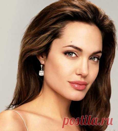 El maquillaje de Angelina Jolie < Вуманка.ру