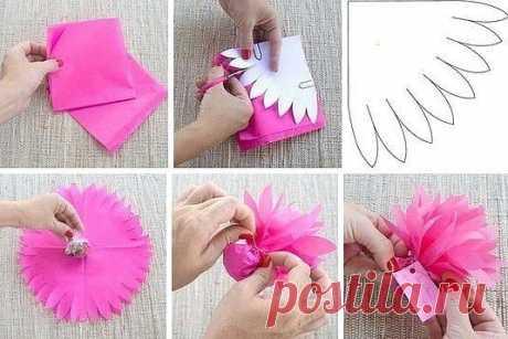Оригинальная упаковка для конфет — Сделай сам, идеи для творчества - DIY Ideas
