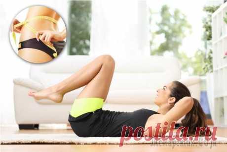 Упражнения для похудения дома без дополнительного инвентаря