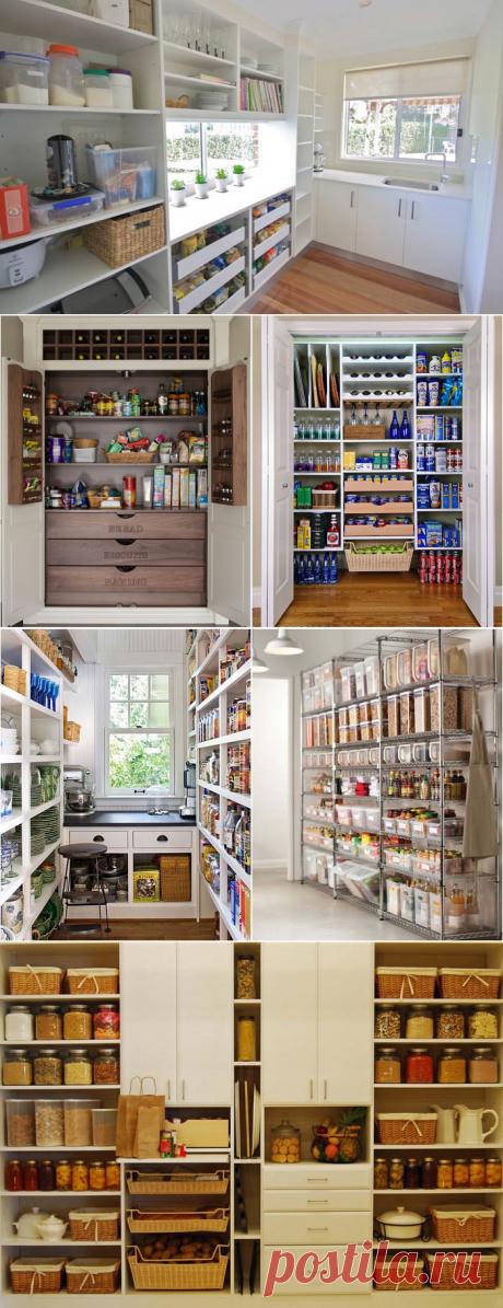 La funcionalidad y la belleza: 20 ideas por la organización de la despensa en la cocina