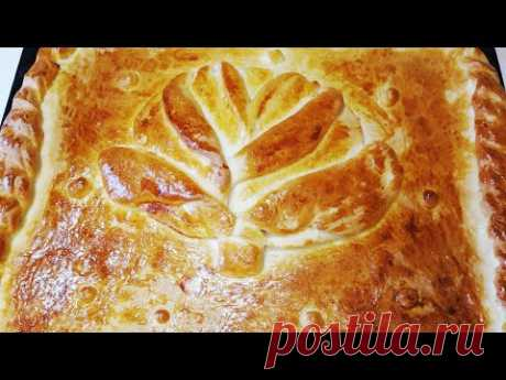 Вот как нужно готовить ПИРОГ с капустой! Вкусный ДОМАШНИЙ  пирог С КАПУСТОЙ.