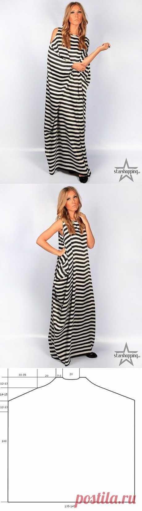Original striped dresses (patterns) \/ Simple patterns \/