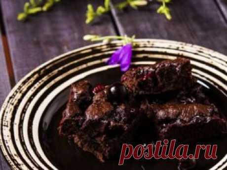 Пирог с черной смородиной без муки: press-pulse