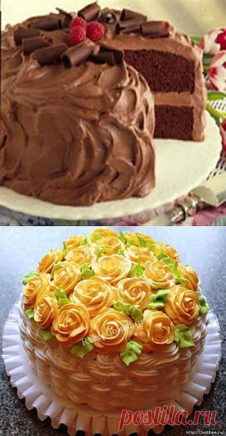 Рецепт Шоколадный торт для мамы.
