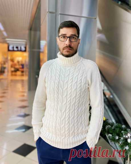 Мужской свитер. МК. | Мария - Вязание спицами и крючком | Яндекс Дзен