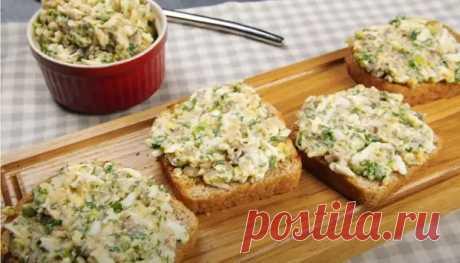 (46) 7 простых намазок на хлеб, для приготовления не надо долго стоять у плиты - БУДЕТ ВКУСНО! - медиаплатформа МирТесен