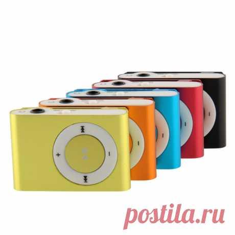 5 цветов выбрать Mini клип металл MP3 музыка плеер без микро SD tf карта shippingFree купить на AliExpress
