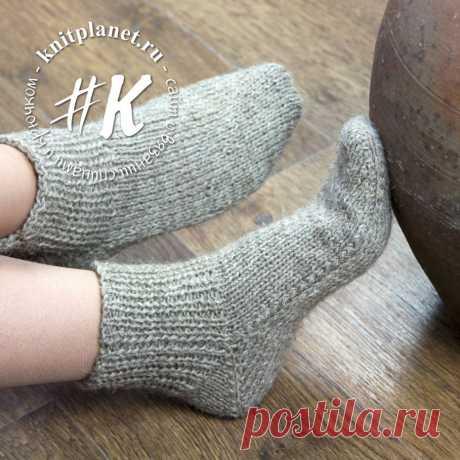 Как связать носки? Подборка схем вязания и мастер-классов