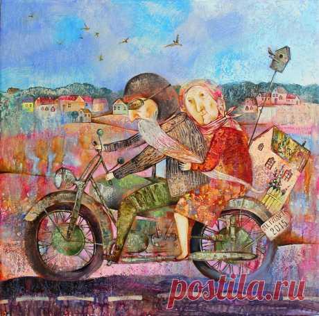 Анна Силивончик - художник, создающий чувственные и выразительные картины