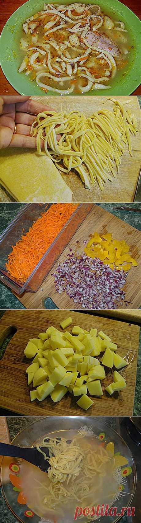 Домашняя лапша рецепт. Вкусная и полезная лапша по-домашнему — простой рецепт