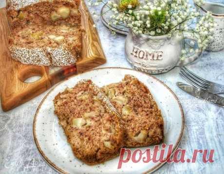 Миндально-яблочный кекс, пошаговый рецепт, фото, ингредиенты - Svetlana Gorelova