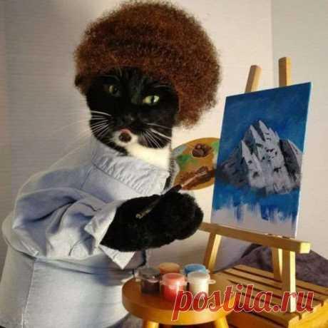 Примеры очаровательного кошачьего косплея . Тут забавно !!!