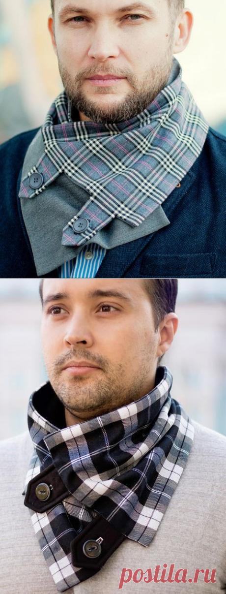 Мужчинам: Идеи модных шарфов-снудов для мужчин