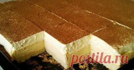 Пирожное с пудингом