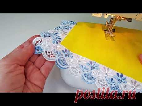 Удивительные швейные хитрости для отделки краев (углов)
