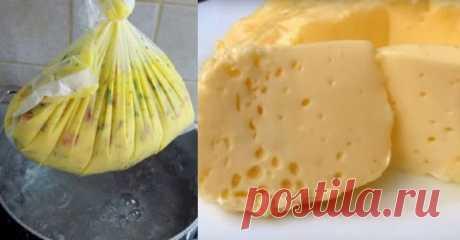 Замечательный мягкий омлет, вареный в пакете. Без использования масла или жира! - Apetitno.TV